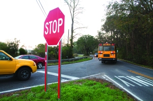 """Photo by Joe Felder, FIVI ImagesThe intersection of Camp Road and Riverland Drive has seen 14 """"serious"""" accidents since 2008."""