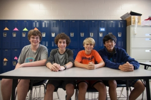 Ethan Grantham, Michael D'Annunzio, Zach Hunter and Aldo Moreno-Reyes - Blackbeard - Darkness on the Horizon