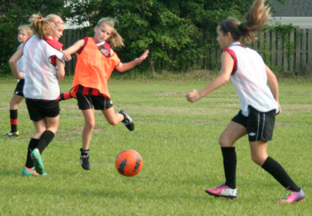 Soccer Action Shot